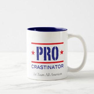 PROcrastinator_ Two-Tone Coffee Mug