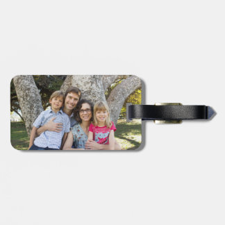 Proctor Family luggage tag
