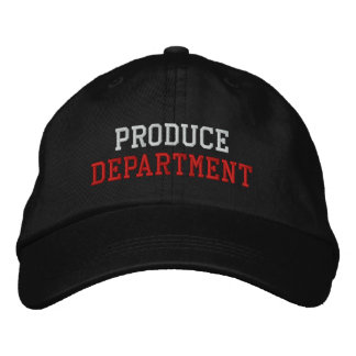 Produce Department Baseball Cap