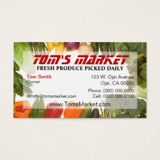 Produce Market Business Card