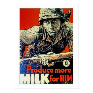 Produce More Milk for Him Postcard
