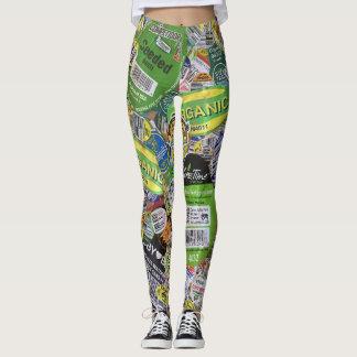 produce sticker leggins version 1 leggings