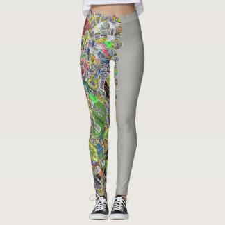 produce sticker leggins version 2 leggings