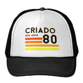 Produced in years 80 trucker hat