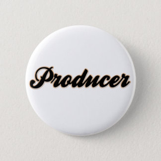 Producer Baseball Style 2 Inch Round Button