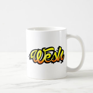 Product graffiti wesh coffee mug
