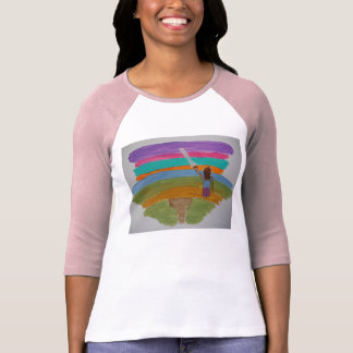 Product of Perception Mirror In The Sky Baseball T T-Shirt