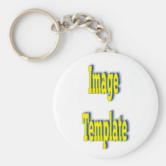Product Template Basic Round Button Keychain