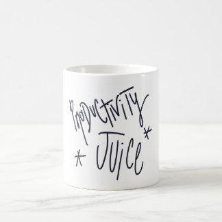 Productivity Juice - Coffee Drinker Gift Mug