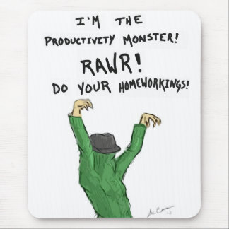 Productivity Monster Mousepad