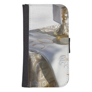 Produit de personnaliser coques avec portefeuille pour galaxy s4