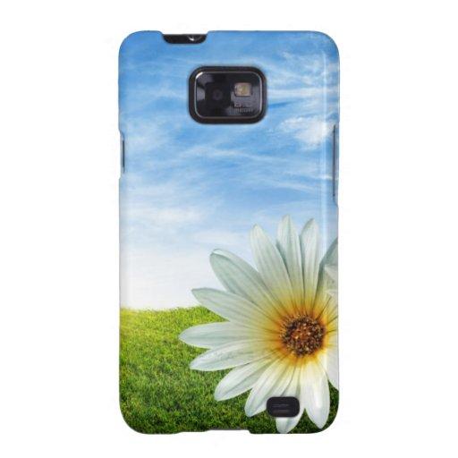 Produits de lever de soleil de fleur beaux étui galaxy s2
