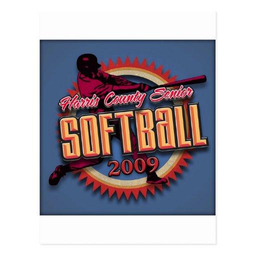 Produits de ligue du base-ball de HCSSL Carte Postale