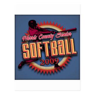Produits de ligue du base-ball de HCSSL Cartes Postales