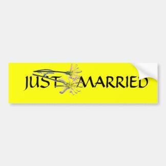 PRODUITS DE MARIAGE AUTOCOLLANT DE VOITURE