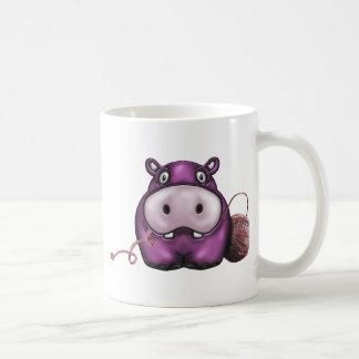 produits heureux d'hippopotame mug