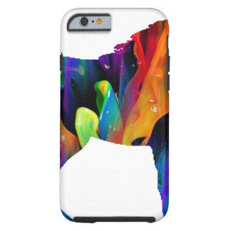 PRODUITS MULTICOLORES DE CHEVAL COQUE iPhone 6 TOUGH