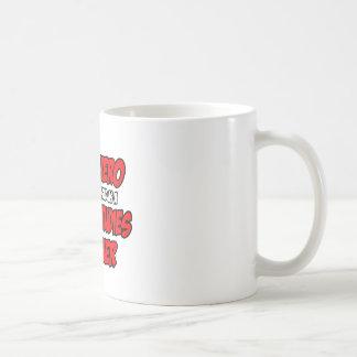 Professeur d'études sociales de super héros… mug à café