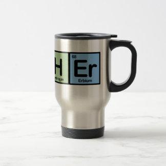Professeur fait d'éléments mug