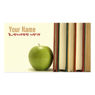 Professeur ou professeur cartes de visite carte de visite standard