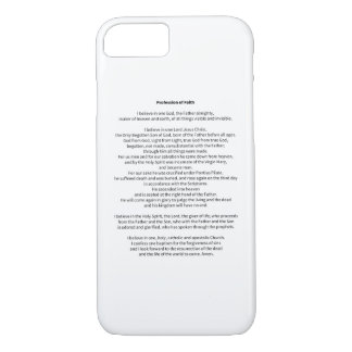 Profession of Faith iPhone 7 Case