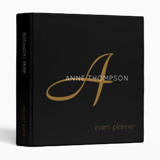 profession (or any other subject) black 3 ring binder