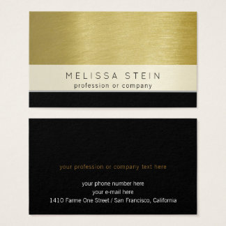 profession or company custom business card