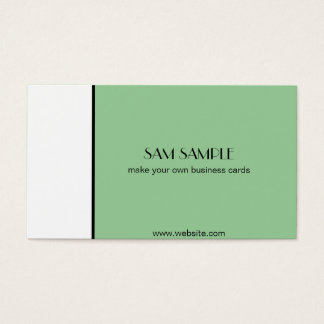 Professional and Popular Business Card