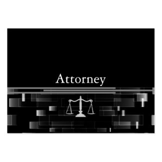 Professional Attorney Large Business Card