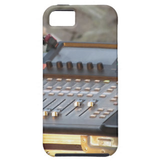 Professional audio mixing console case for the iPhone 5