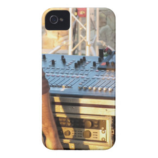 Professional audio mixing console iPhone 4 Case-Mate case