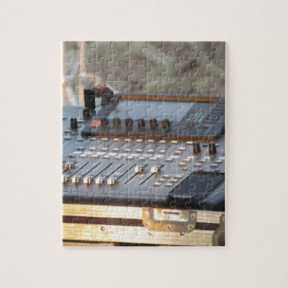 Professional audio mixing console jigsaw puzzle