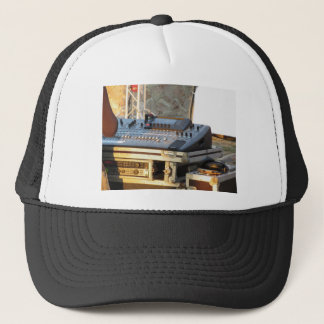 Professional audio mixing console trucker hat