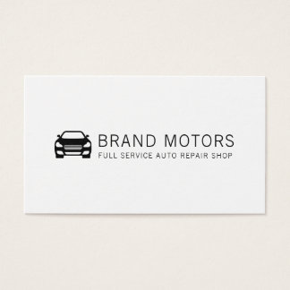 Professional Automotive Auto Repair Business Card
