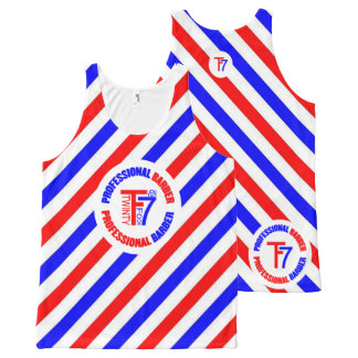 Professional Barber All-Over-Print Tank Top