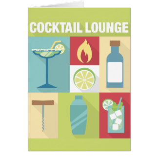 Professional Bartender Iconic Designed Card
