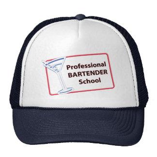 Professional Bartending School Michigan Cap Trucker Hat