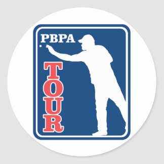 Professional Beer Pong Association Classic Round Sticker