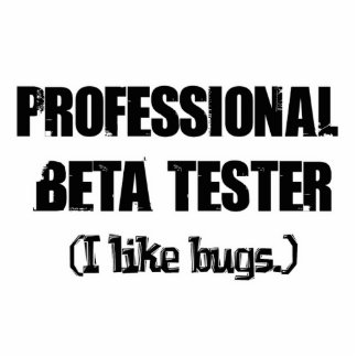 professional beta tester like bugs photo sculptures