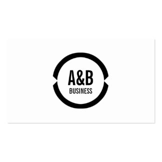 Professional Black Ring Playwright Business Card
