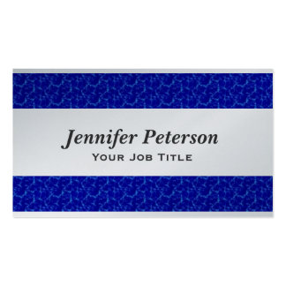 Professional Blue Water Texture Business Card Templates