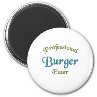 Professional Burger Eater Magnet