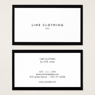 Professional Business Card for Luxury Boutique