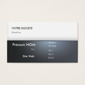 Professional calling card - Card Business
