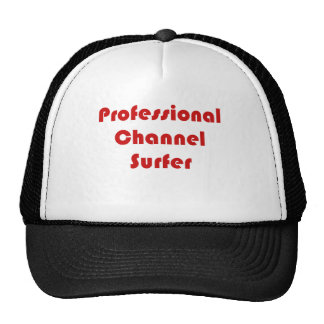 Professional Channel Surfer Mesh Hats