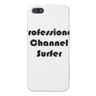 Professional Channel Surfer iPhone 5 Cases