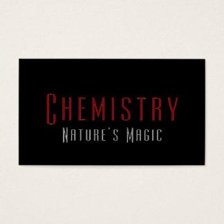 Professional Chemist Chemistry Business Cards
