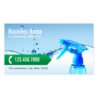 Professional Cleaning Service Business Cards