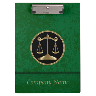 Professional Company Style | Lawyers | DIY Text Clipboards