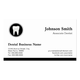 Professional Dentist - Dental Care Appointment Business Card